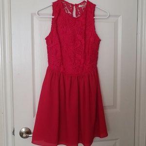 Dresses & Skirts - New Lace Chiffon Dress